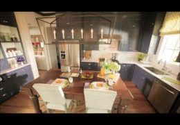 Smart Stylish Family Kitchen